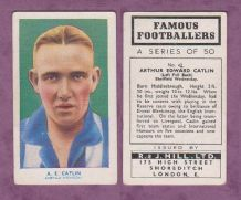 Sheffield Wednesday Arthur Catlin England 42